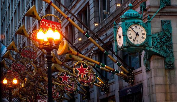 """芝加哥即将进入""""节日模式"""":辉煌一英里亮灯游行、感恩节游行、圣诞树亮灯仪式"""
