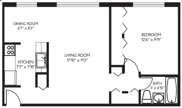 Lakeview PPM一室一厅 卧室$660 客厅$610(第一弹)