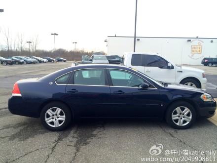 毕业卖车, 2007年Chev Impala Ls