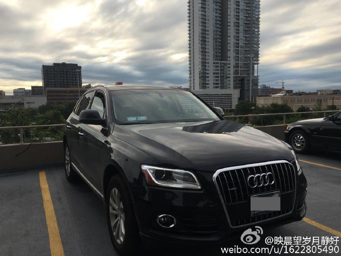 毕业卖车~坐标芝加哥~黑色Audi Q5