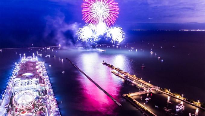 芝加哥独立日焰火最佳欣赏地点