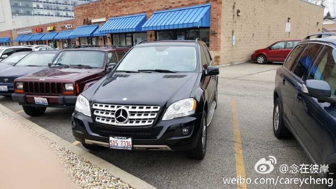 【微博转发】回国卖车,2011 Mercedes-Benz ML 350