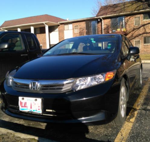2012 Honda Civic-$8200