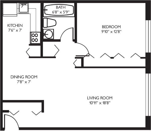 lakeview 找室友,白人区一室一厅,室厅都可以选,价钱实惠