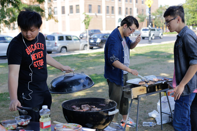 德保罗,IIT,UIC中国留学生烧烤联谊:抓住夏天的尾巴