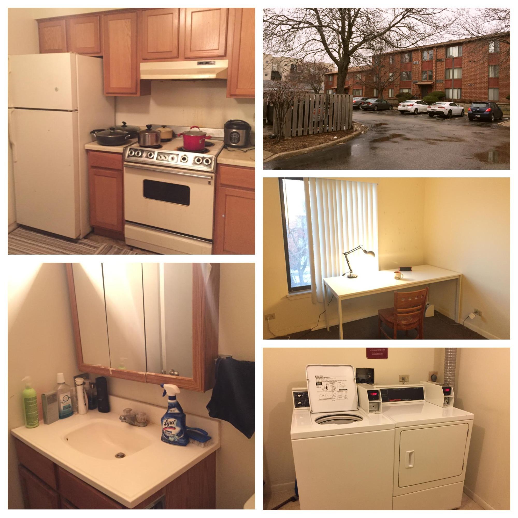 UIC附近公寓$380寻长租,带家具,去市区半小时