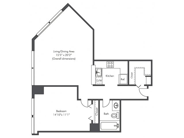 【已出租】拎包入住PT高级公寓一房一厅6-8月整套转租