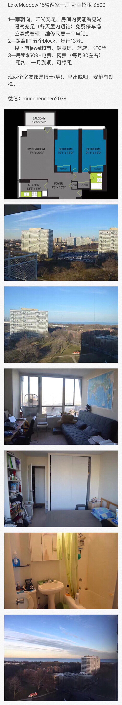 IIT附近公寓 LM500 两室一厅 卧室招租