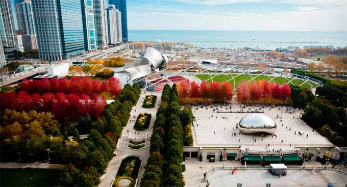 赏枫何必去北密?秋色最美芝加哥