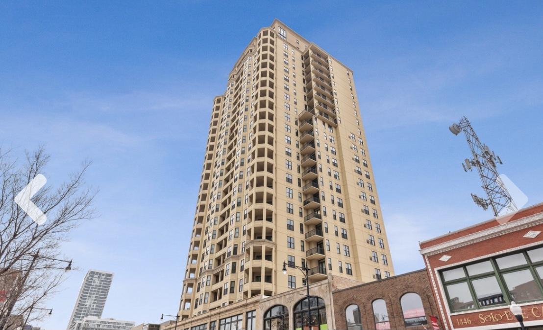 芝加哥密西根大道14街高级公寓一室一厅全装修出租